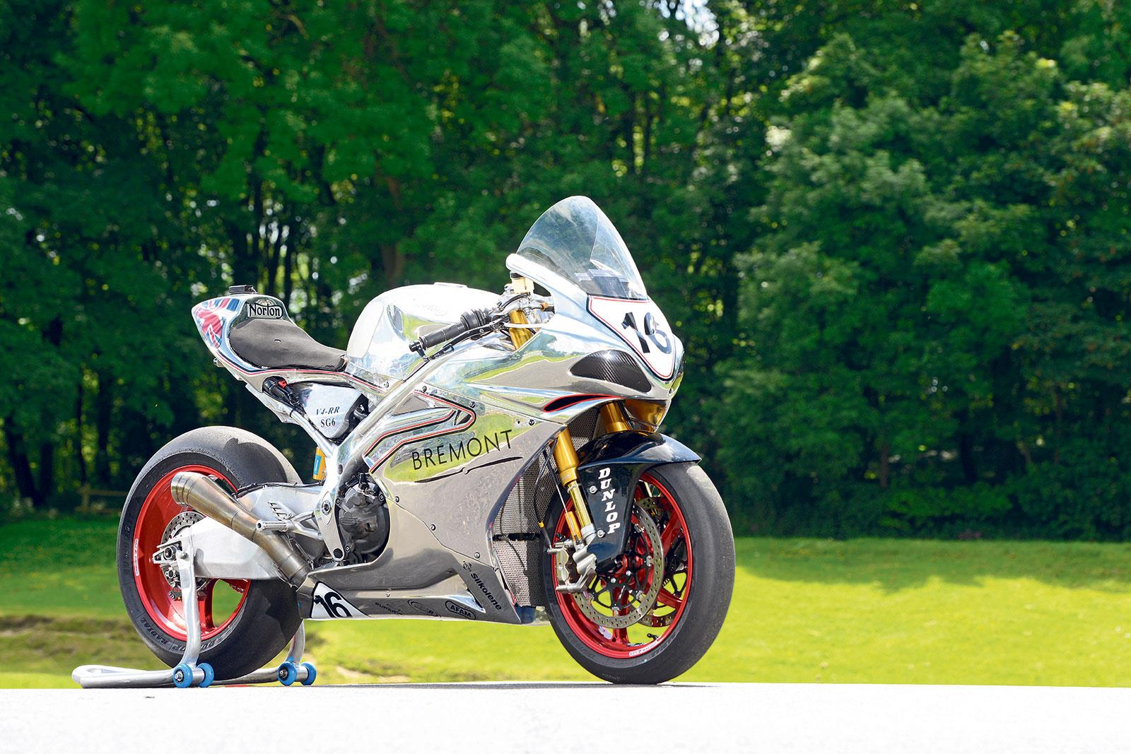Norton SG6 TT race bike