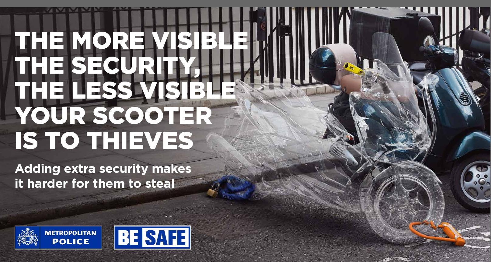 Met Police 'Be Safe' campaign