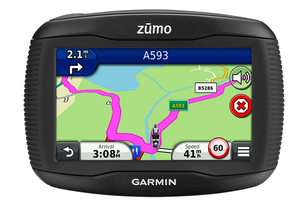 A sat nav will keep you from getting lost