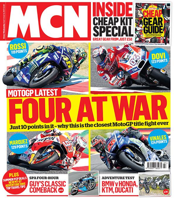 Motorcycle News Cover June 28 2017