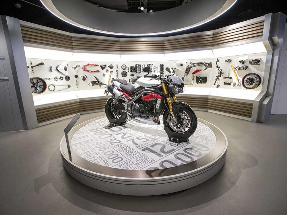 Visit the Triumph Factory Visitor Experience today