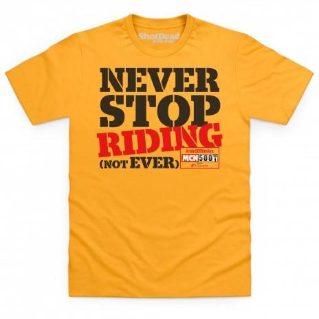 Five things motorcycle t-shirt