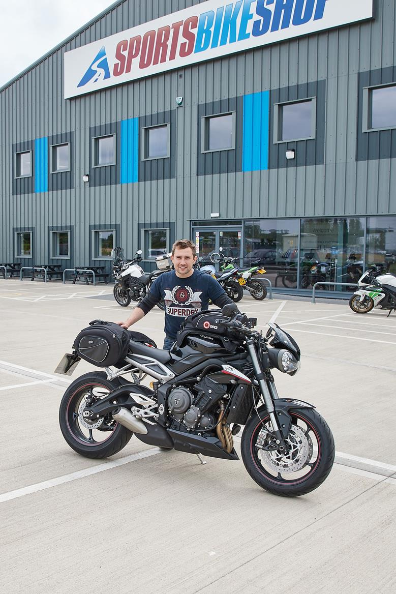 Mcn Fleet Luggage For The Street Triple 765 Rs