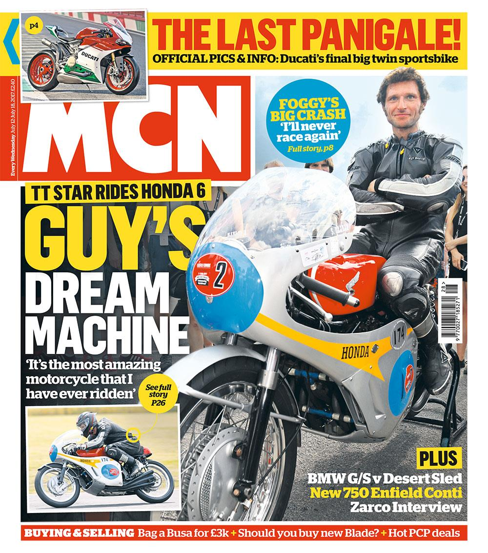 Motorcycle News July 12 issue cover