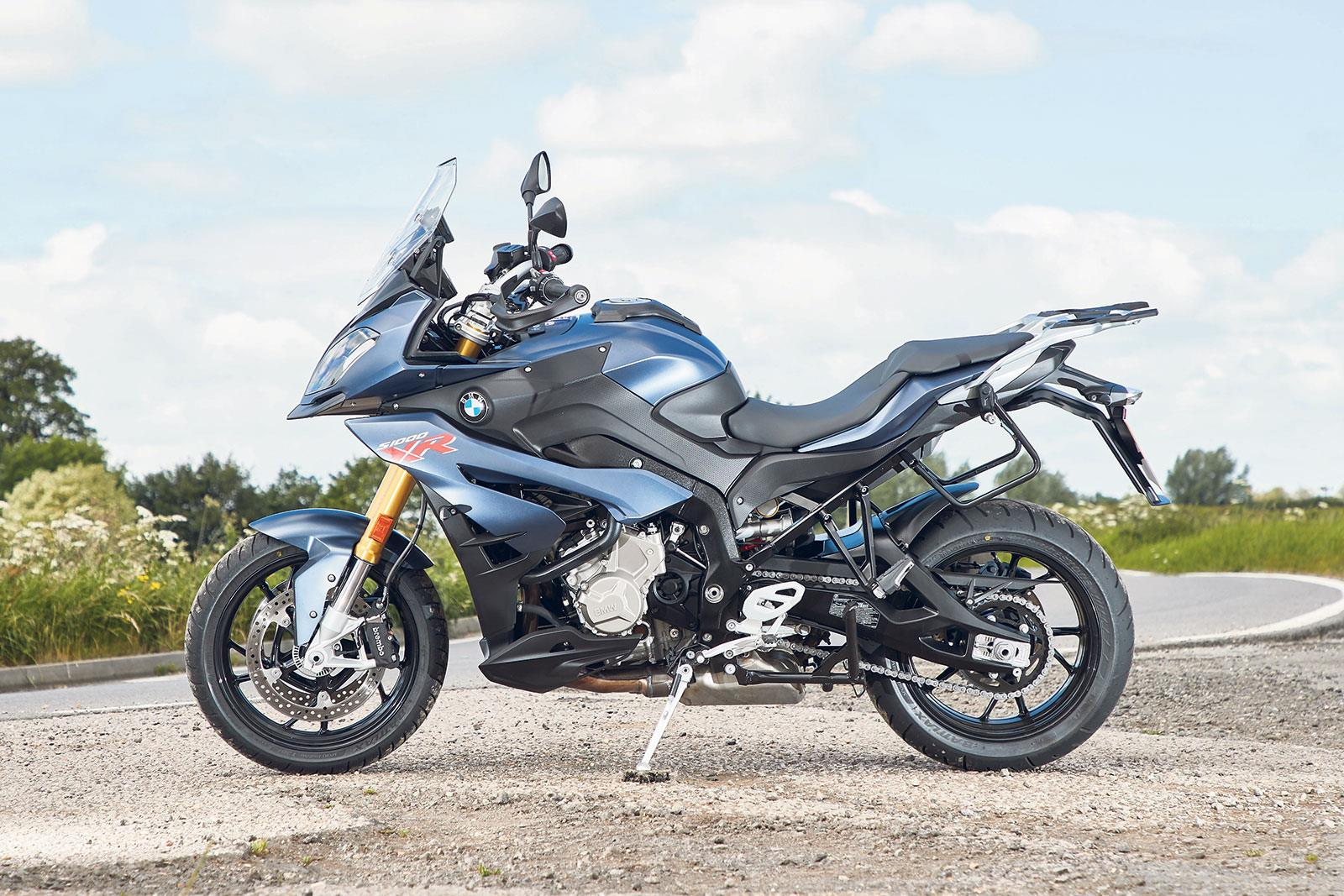 2017 adventure sport bike of the year: BMW S1000XR