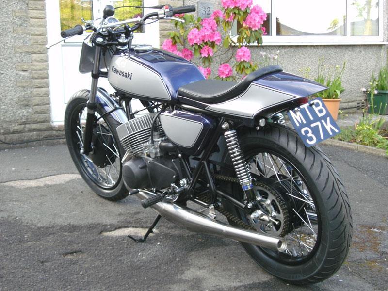 Kawasaki H1a flattracker