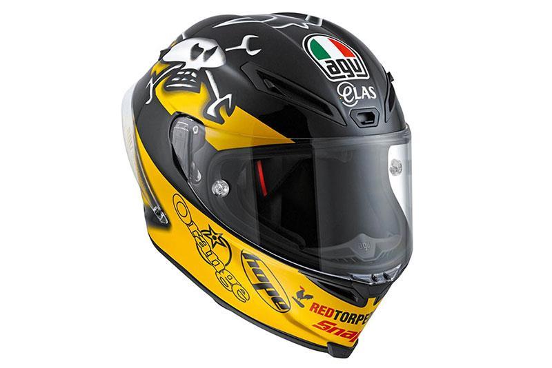 AGV Corsa-R Guy Martin helmet
