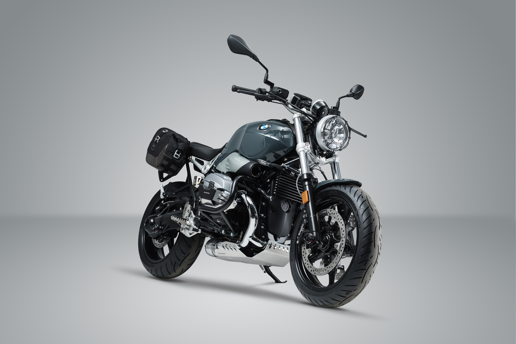 sw motech release accessories for bmw r ninet pure mcn. Black Bedroom Furniture Sets. Home Design Ideas