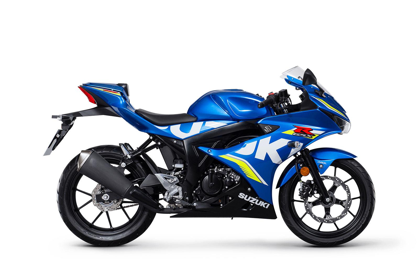 suzuki gsx r125 and gsx s125 pricing confirmed mcn. Black Bedroom Furniture Sets. Home Design Ideas