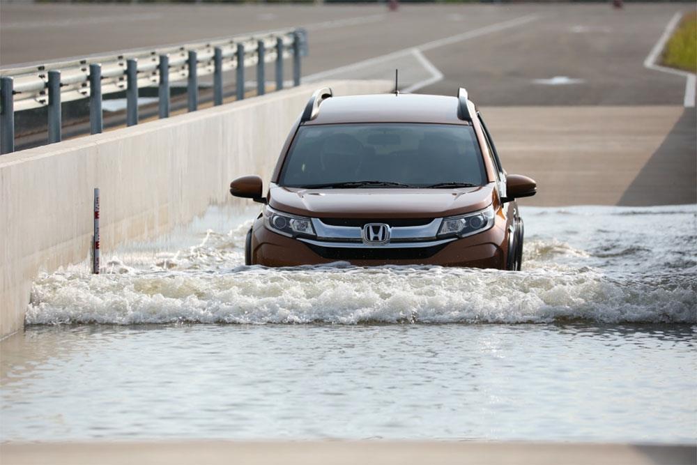 Honda Proving Ground wet course