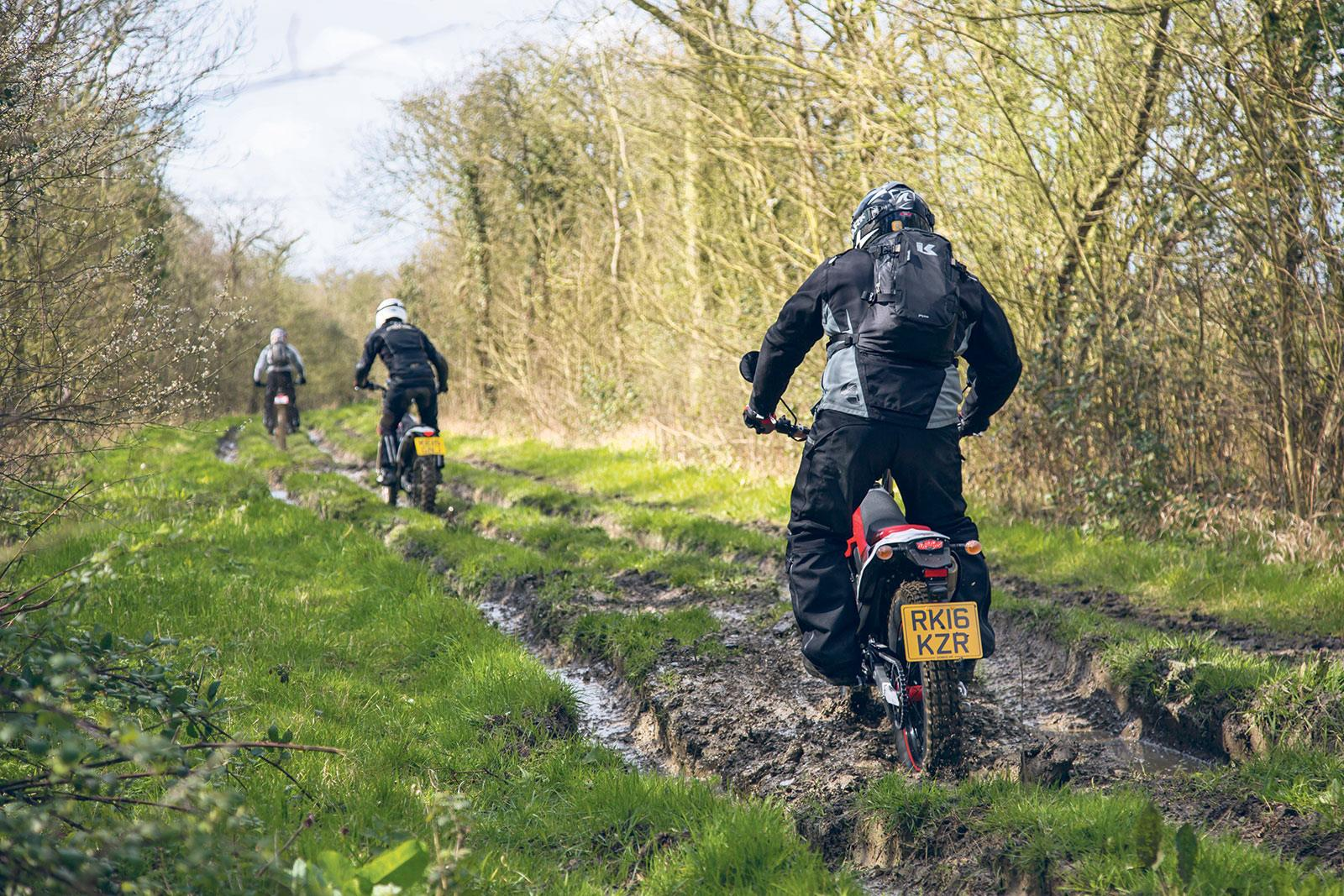 Green-laning and the law