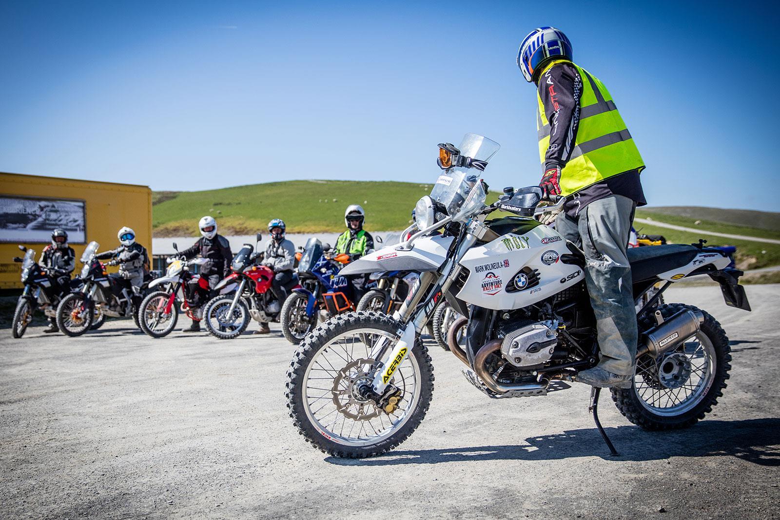 Off-road motorcycle school