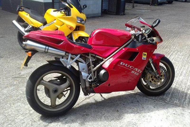 Ducati 916 motorcycle for sale