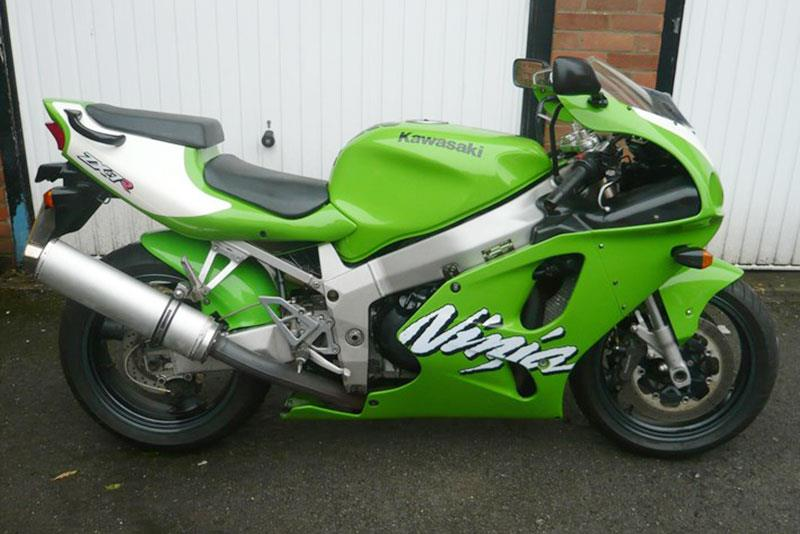 Kawasaki ZX-7R motorcycle for sale