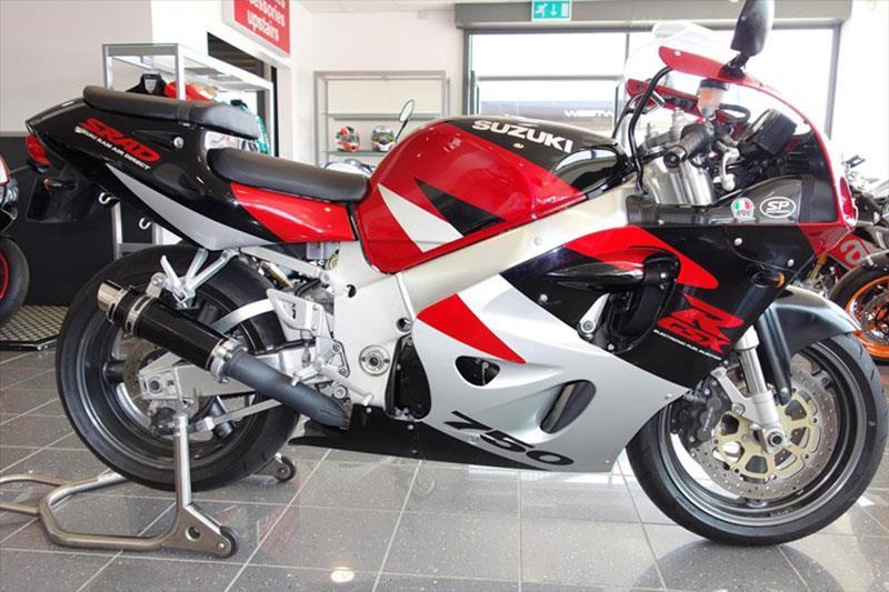 Suzuki GSX-R750 SRAD motorcycle for sale