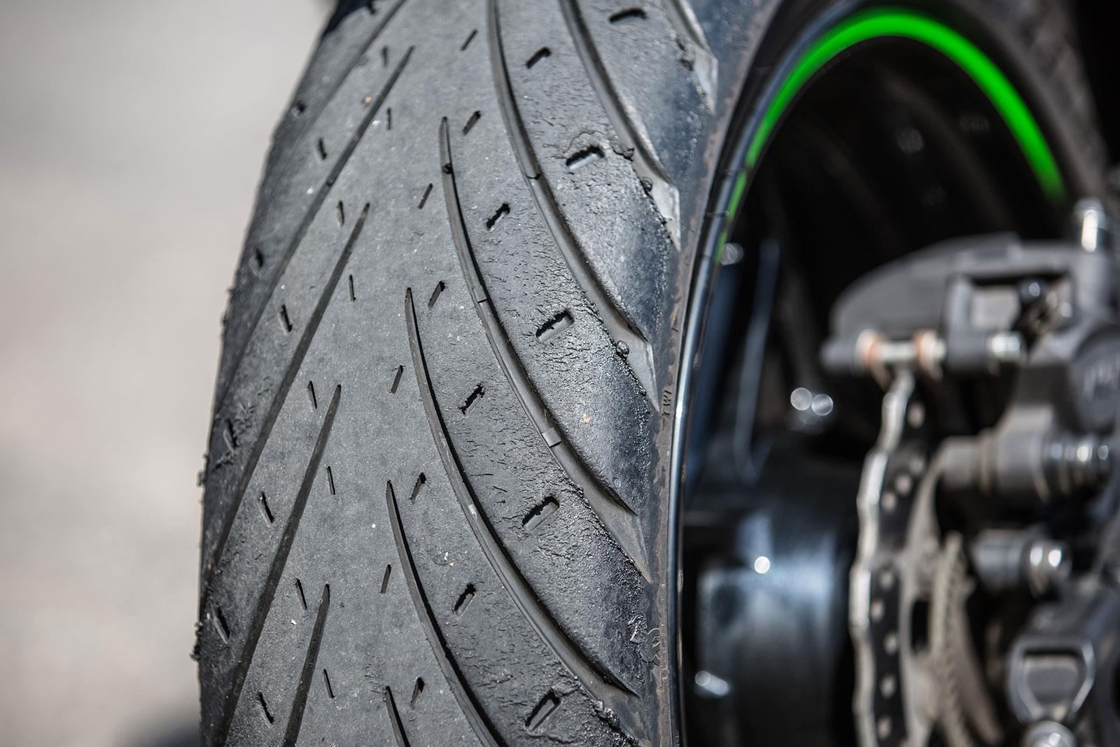 Meterler Roadtec 01 tyres fitted to my Kawasaki Ninja 650