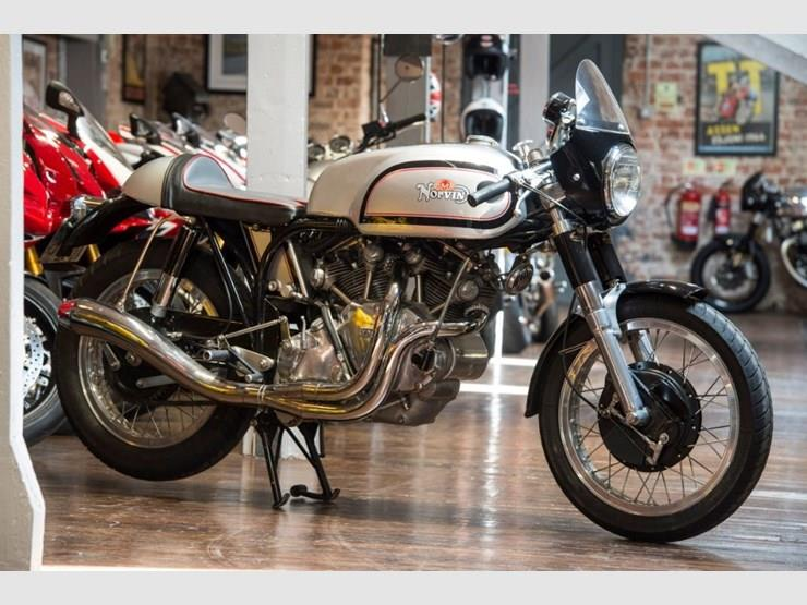 Norvin Black Shadow motorcycle for sale