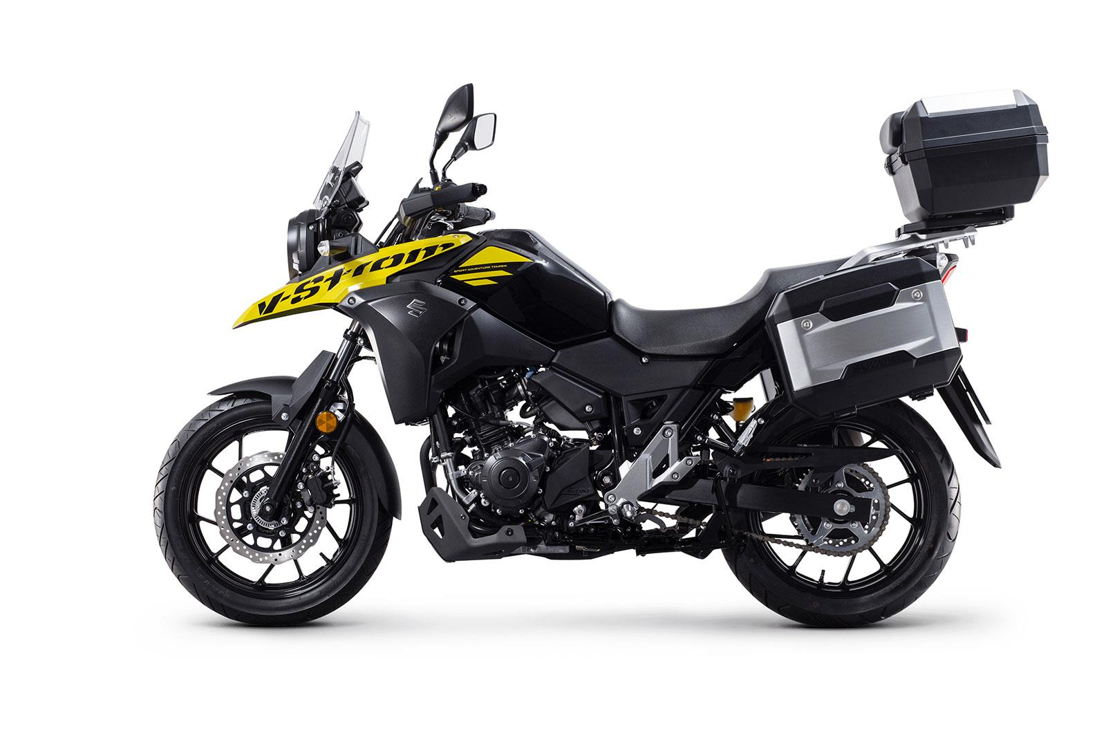 suzuki announce new v strom 250 price mcn. Black Bedroom Furniture Sets. Home Design Ideas