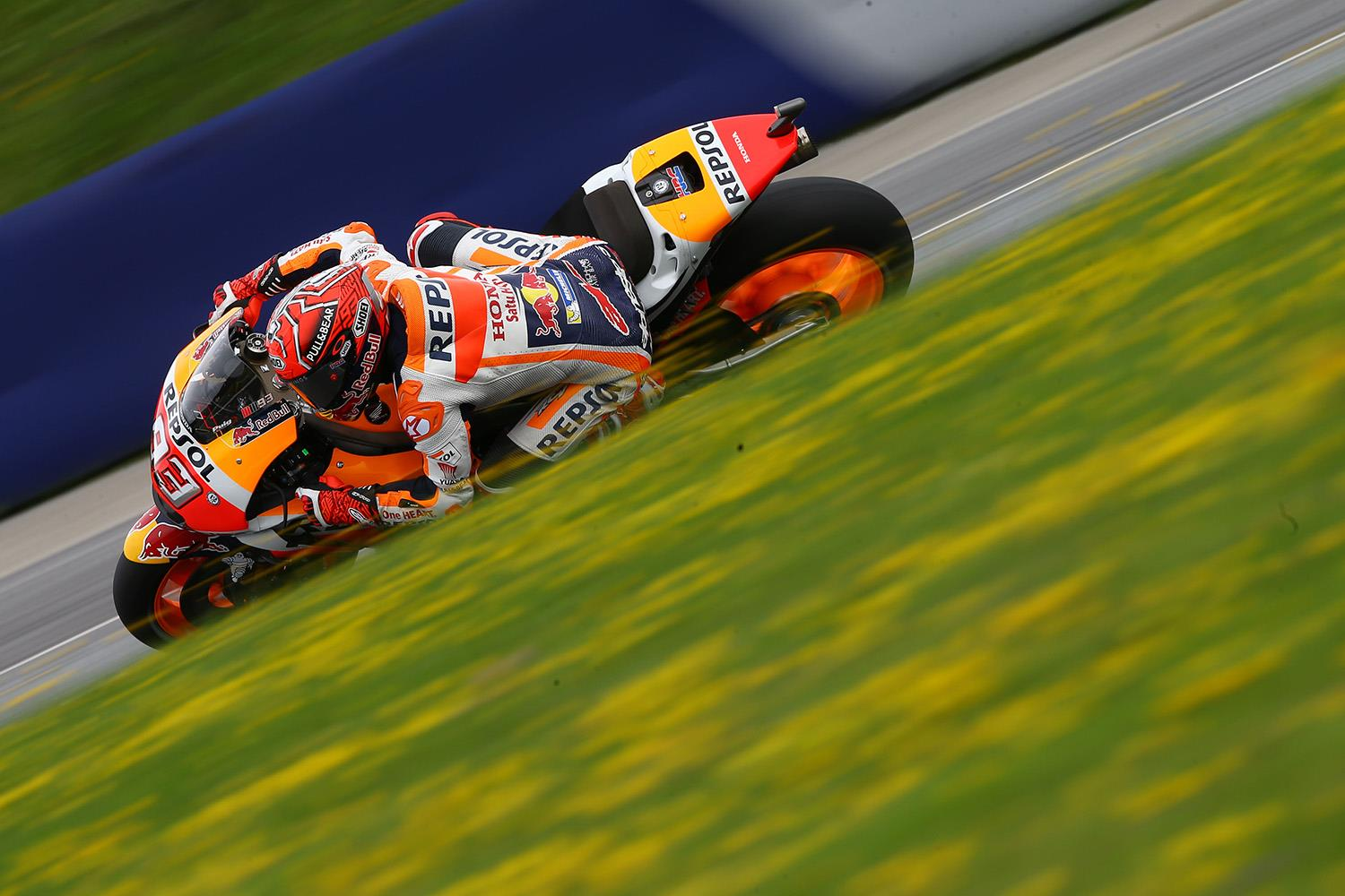 MotoGP Marquez blitzes the opposition for Red Bull Ring pole