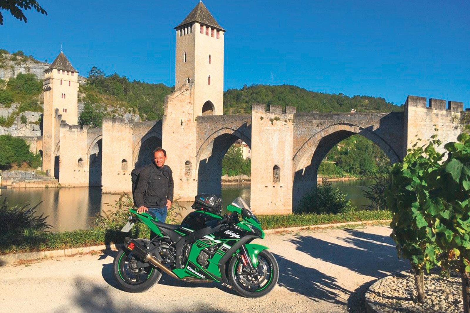 Kawasaki ZX-10R #ride5000miles