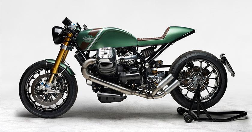 Moto Guzzi MGR1200 custom motorcycle