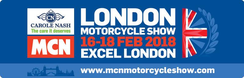 Carole Nash MCN London Motorcycle Show