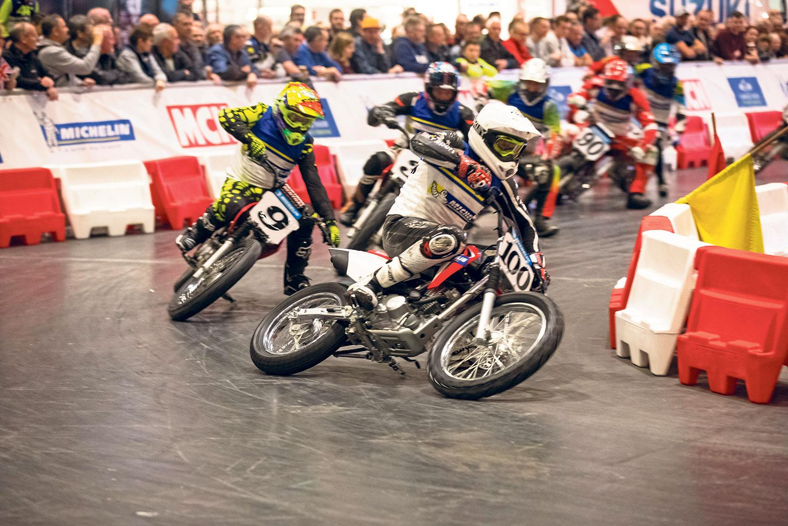 Michelin Thunderdrome at the 2018 Carole Nash #MCNShow | MCN