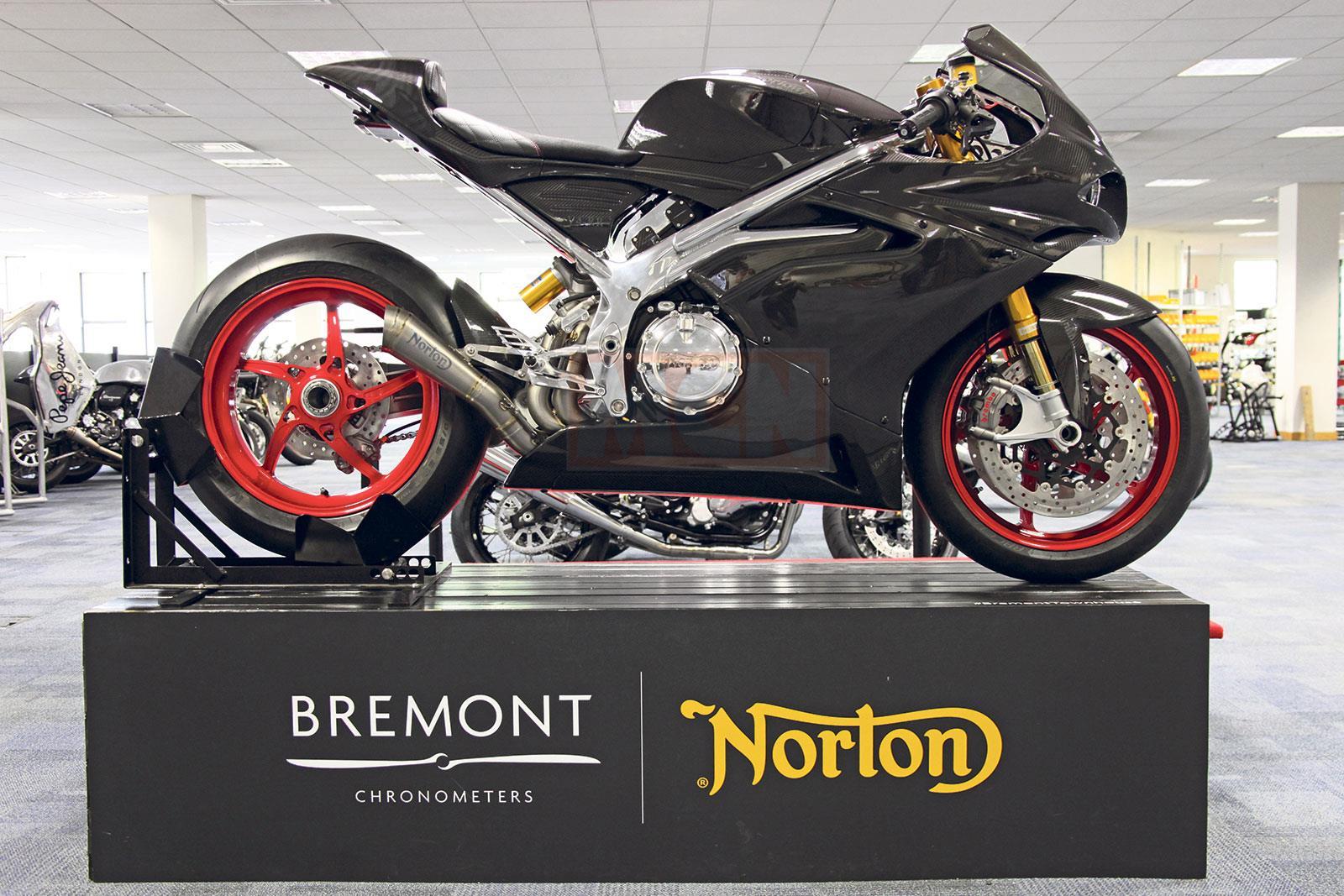Norton V4 motorcycle