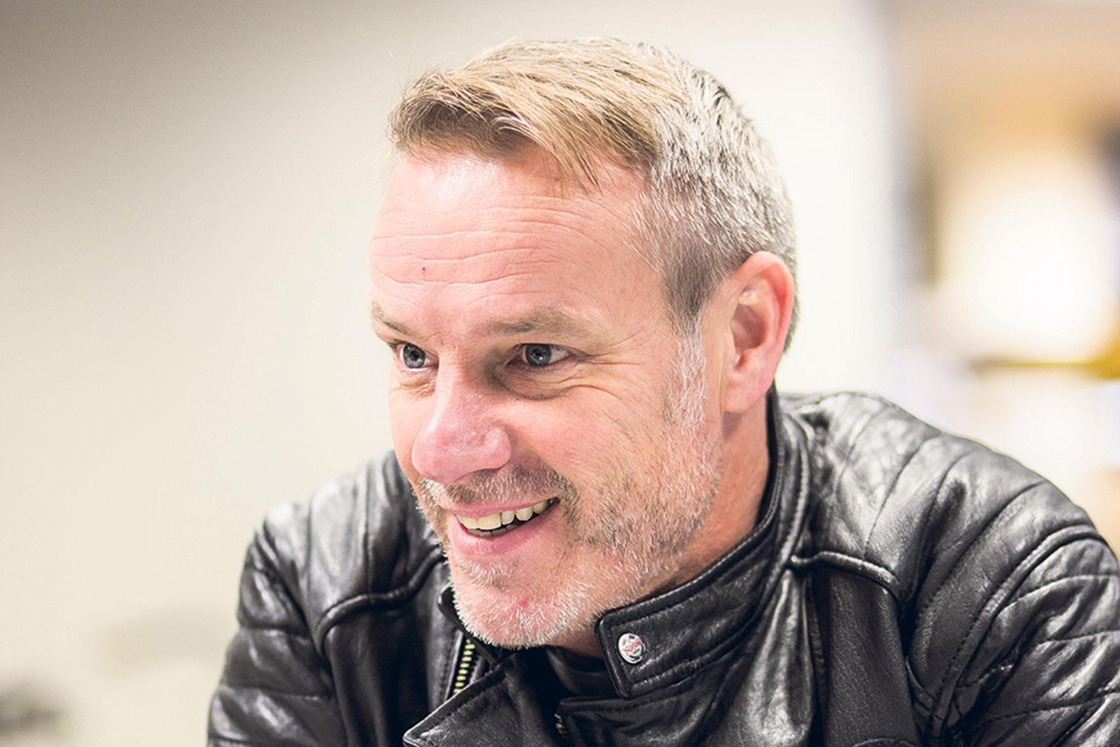 Stuart Garner, CEO Norton Motorcycles