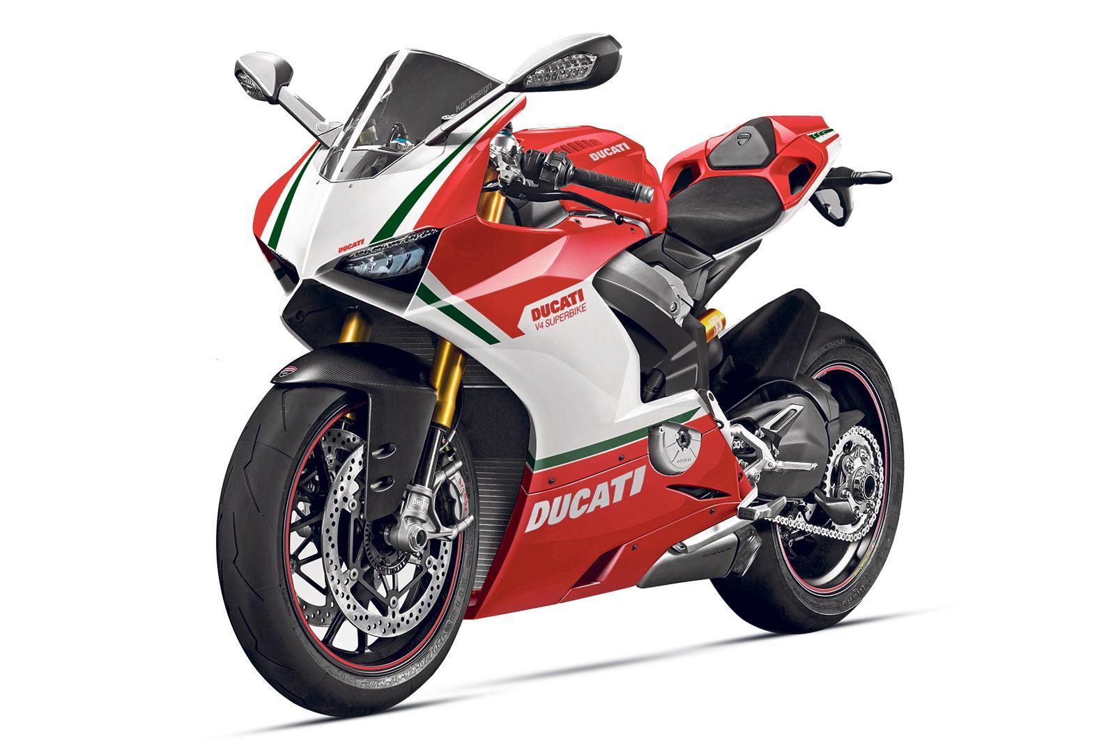 Ducati Panigale 1200cc >> Norton's V4 Lives! | MCN