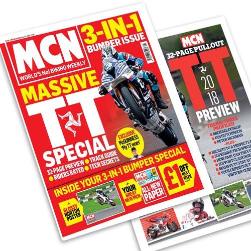 Massive 3-in-1 TT  special issue of MCN