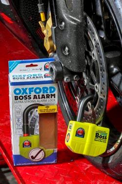 Get an Oxford Boss Alarm Lock when you subscribe