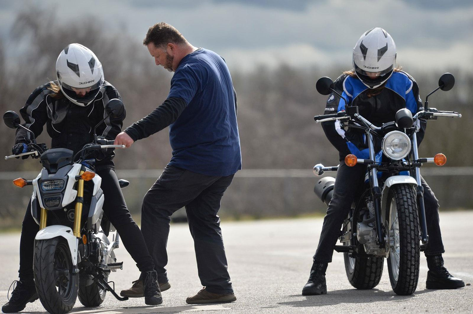 Get On motorcycle taster session