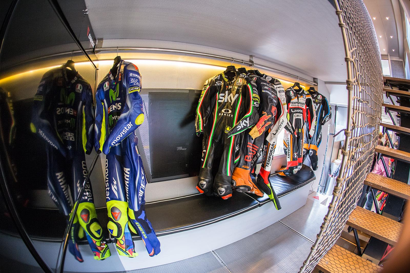 Dainese MotoGP race truck
