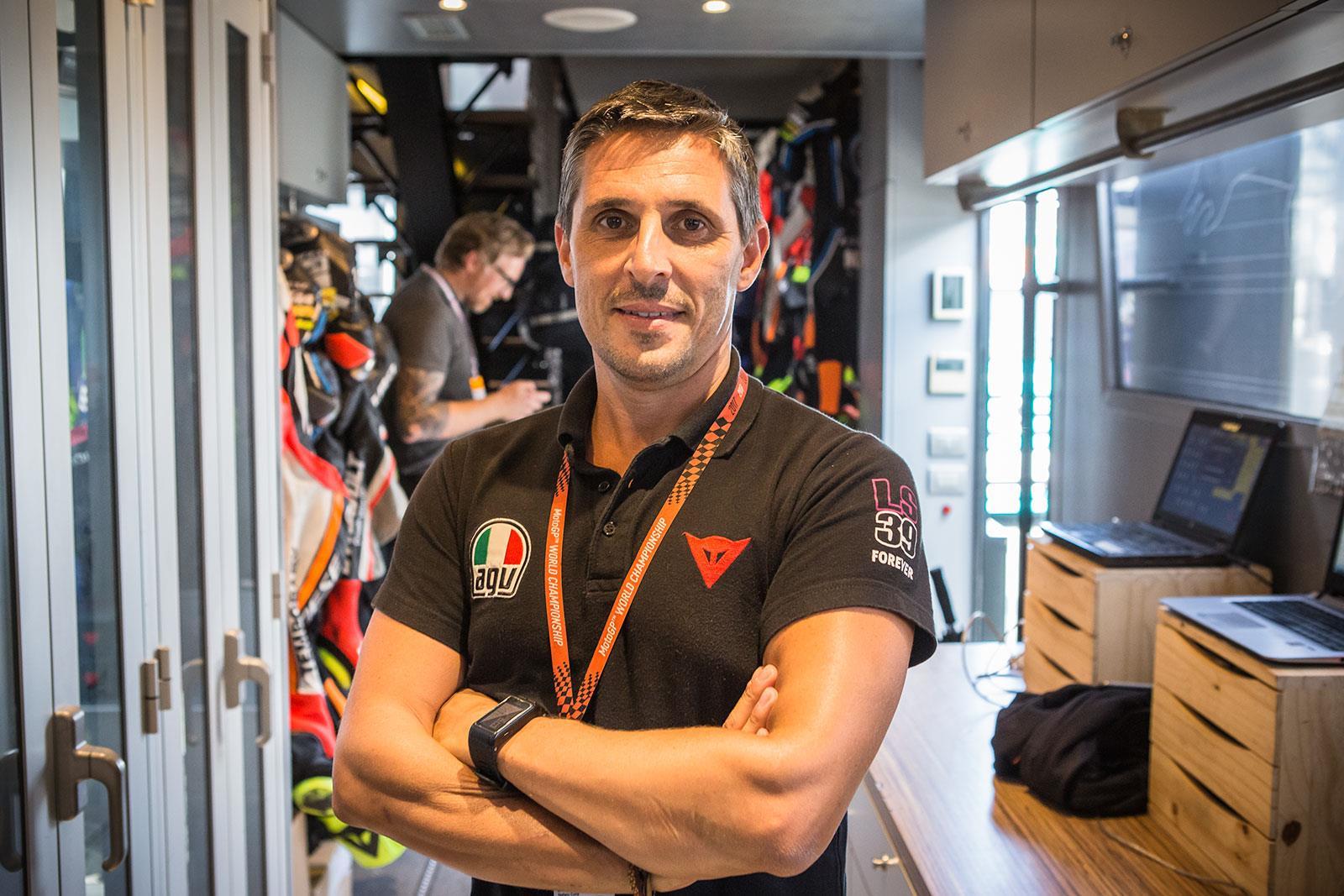 Stefano Corte Dainese MotoGP