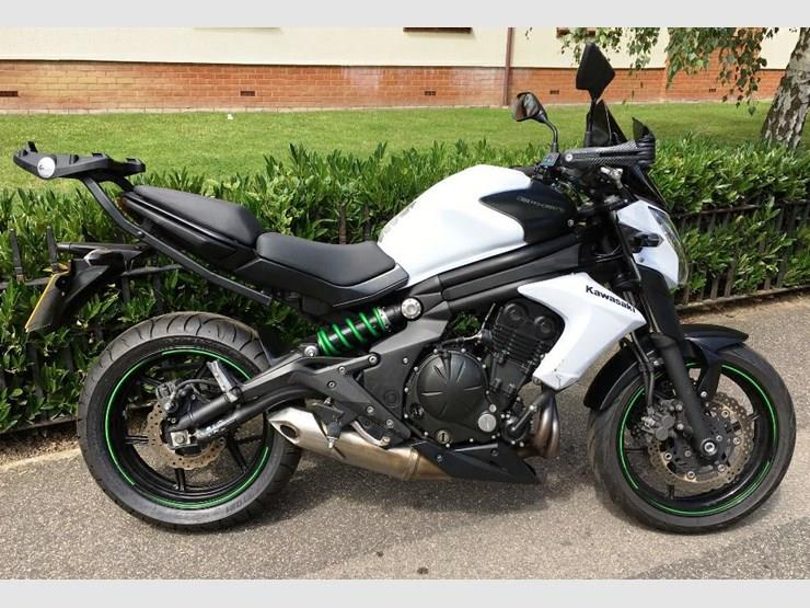 Kawasaki ER-6N motorcycle for sale