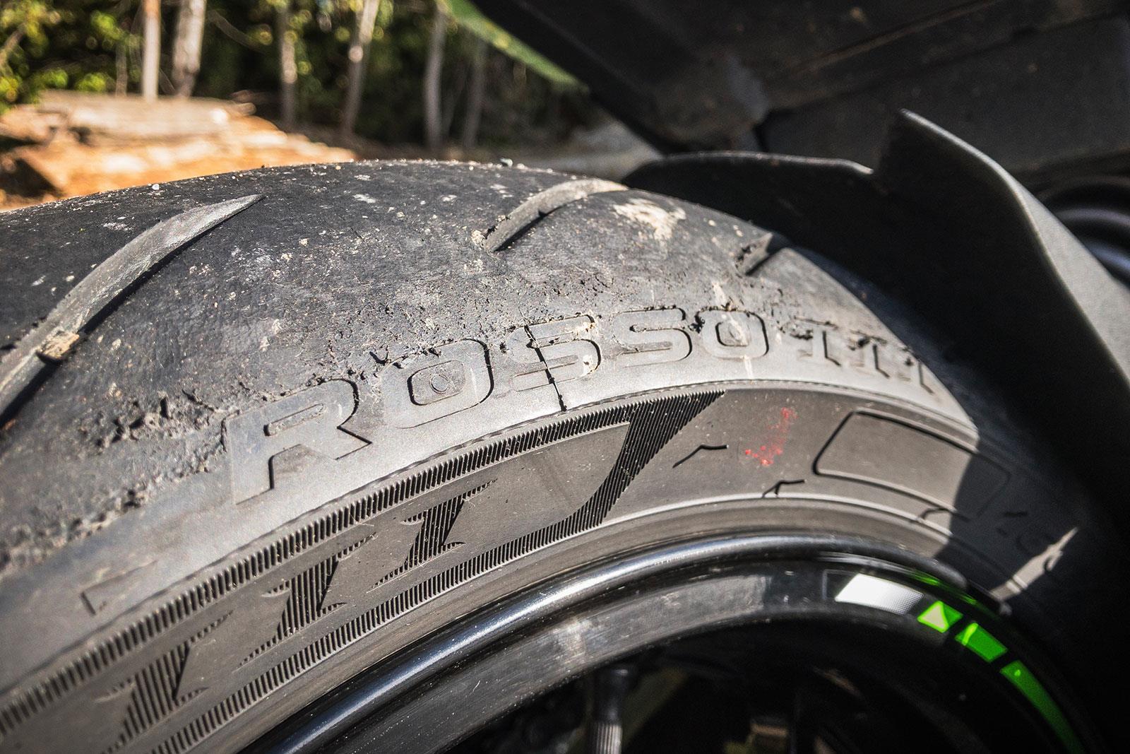 Pirelli Diablo Rosso III tyre