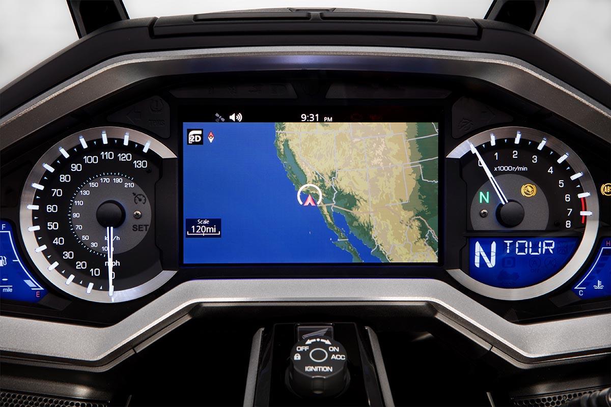 Honda Gold Wing 2018 GPS