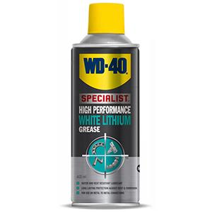 WD40 white lithium grease