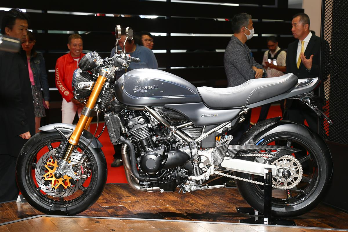 amazing kawasaki z900rs customs at tokyo motor show. Black Bedroom Furniture Sets. Home Design Ideas