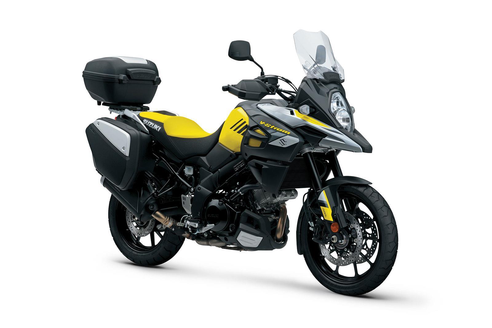 Suzuki's V-Strom range gets GT upgrades | MCN