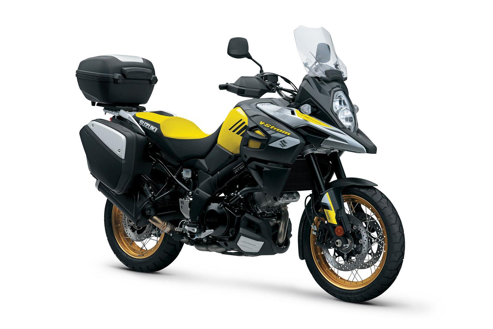 Suzuki's V-Strom range gets GT upgrades   MCN