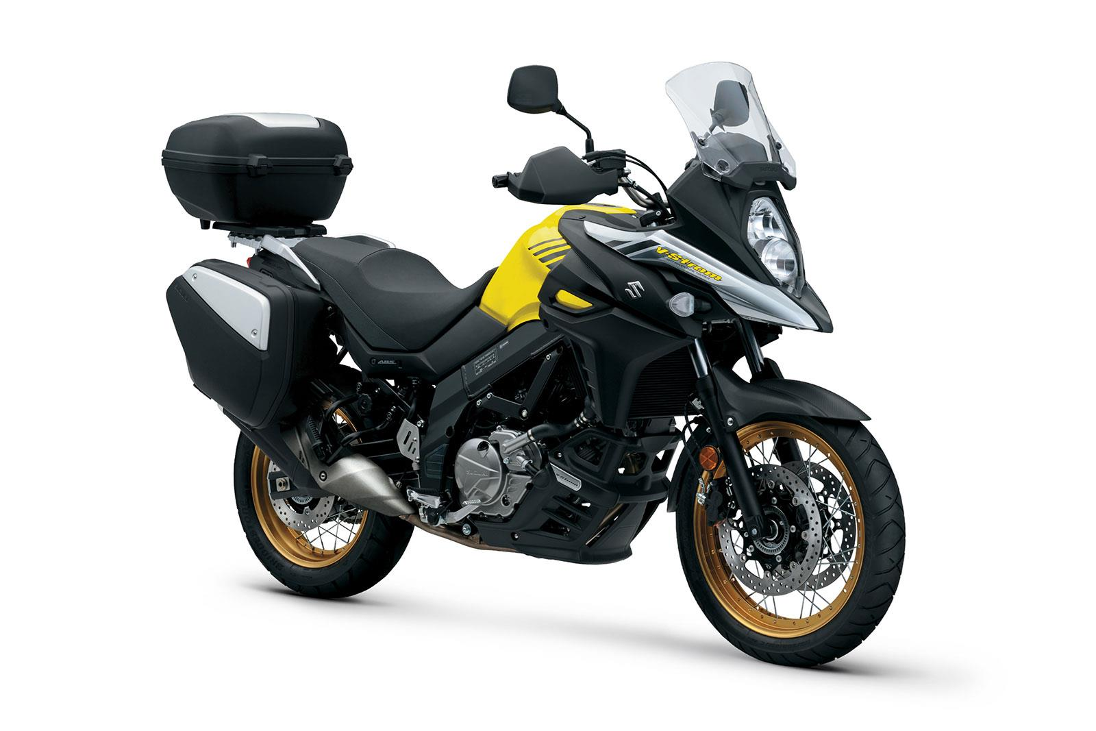 suzuki s v strom range gets gt upgrades. Black Bedroom Furniture Sets. Home Design Ideas
