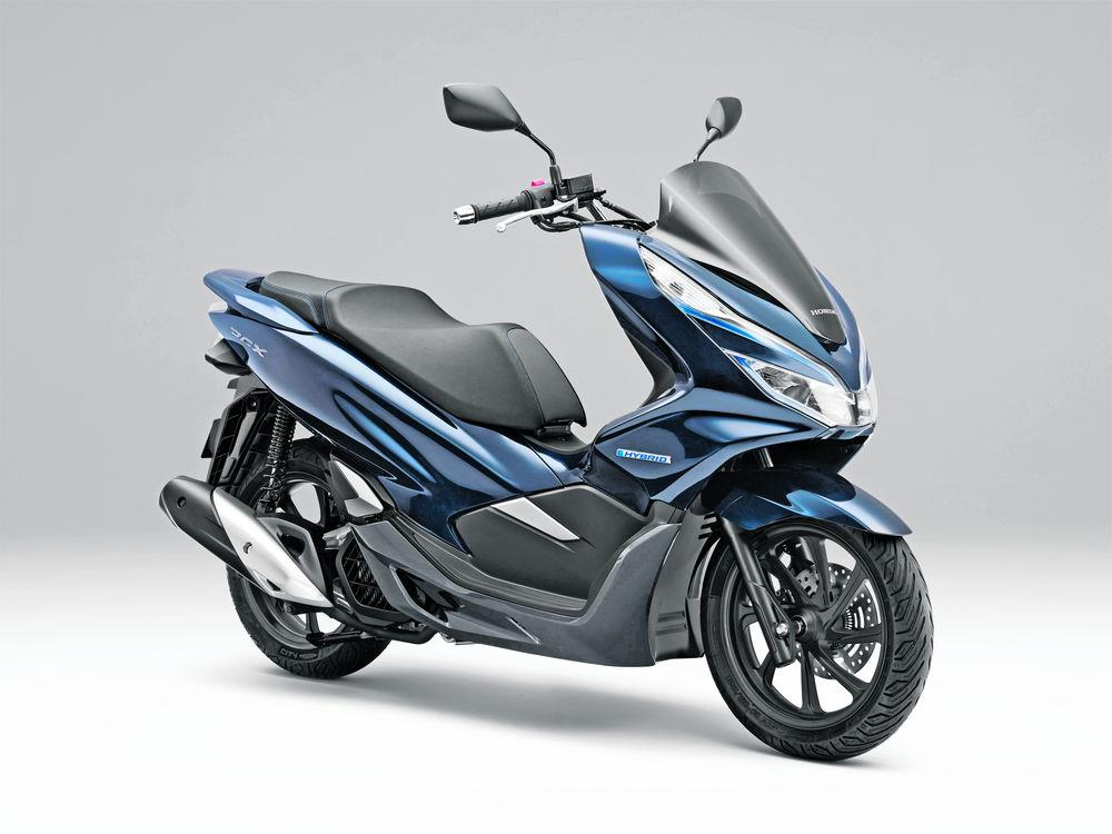 honda pcx electric and hybrid the most important bikes ever. Black Bedroom Furniture Sets. Home Design Ideas