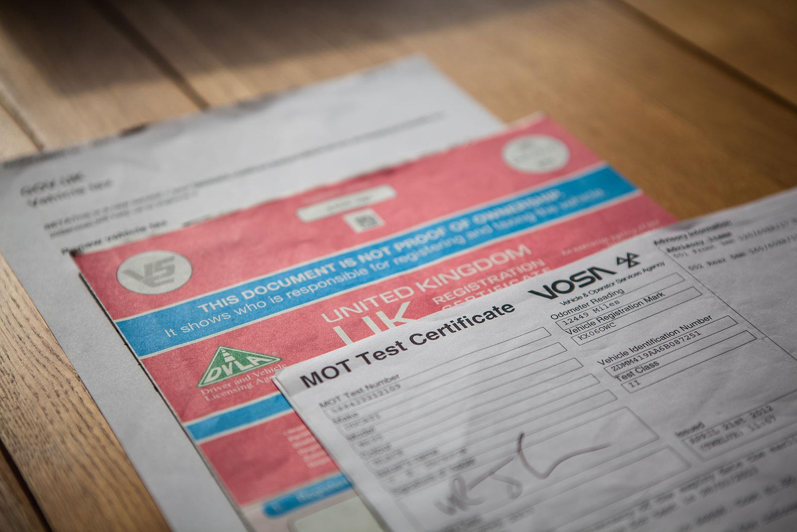 Check bike documents carefully