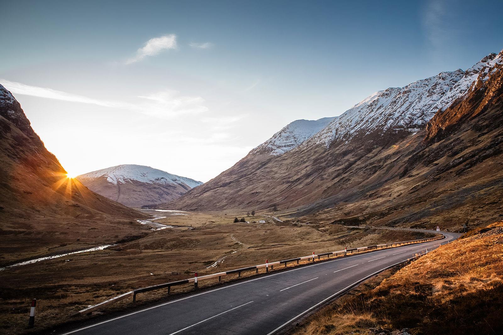 A82, Scotland