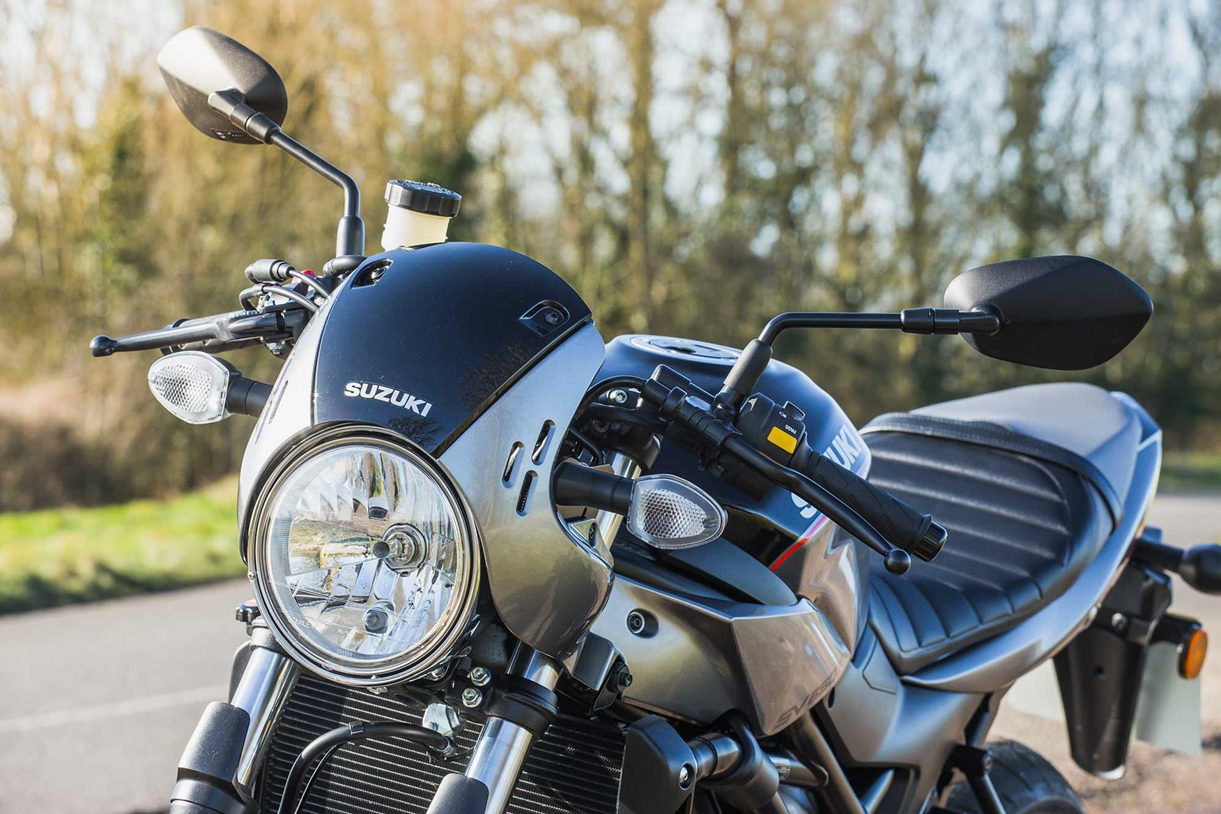 First Ride Suzuki Sv650x Is An Sv With Styling Mods Mcn Moded Bikes