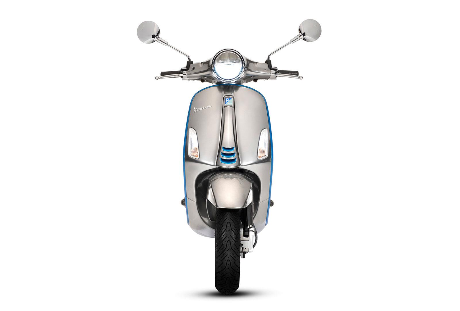 The Vespa Elettrica has all the same cool styling as the petrol bikes