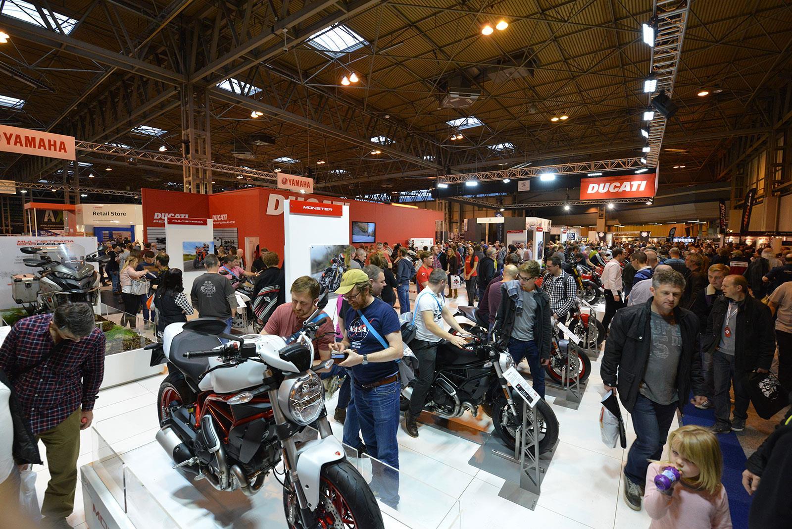 Ducati stand