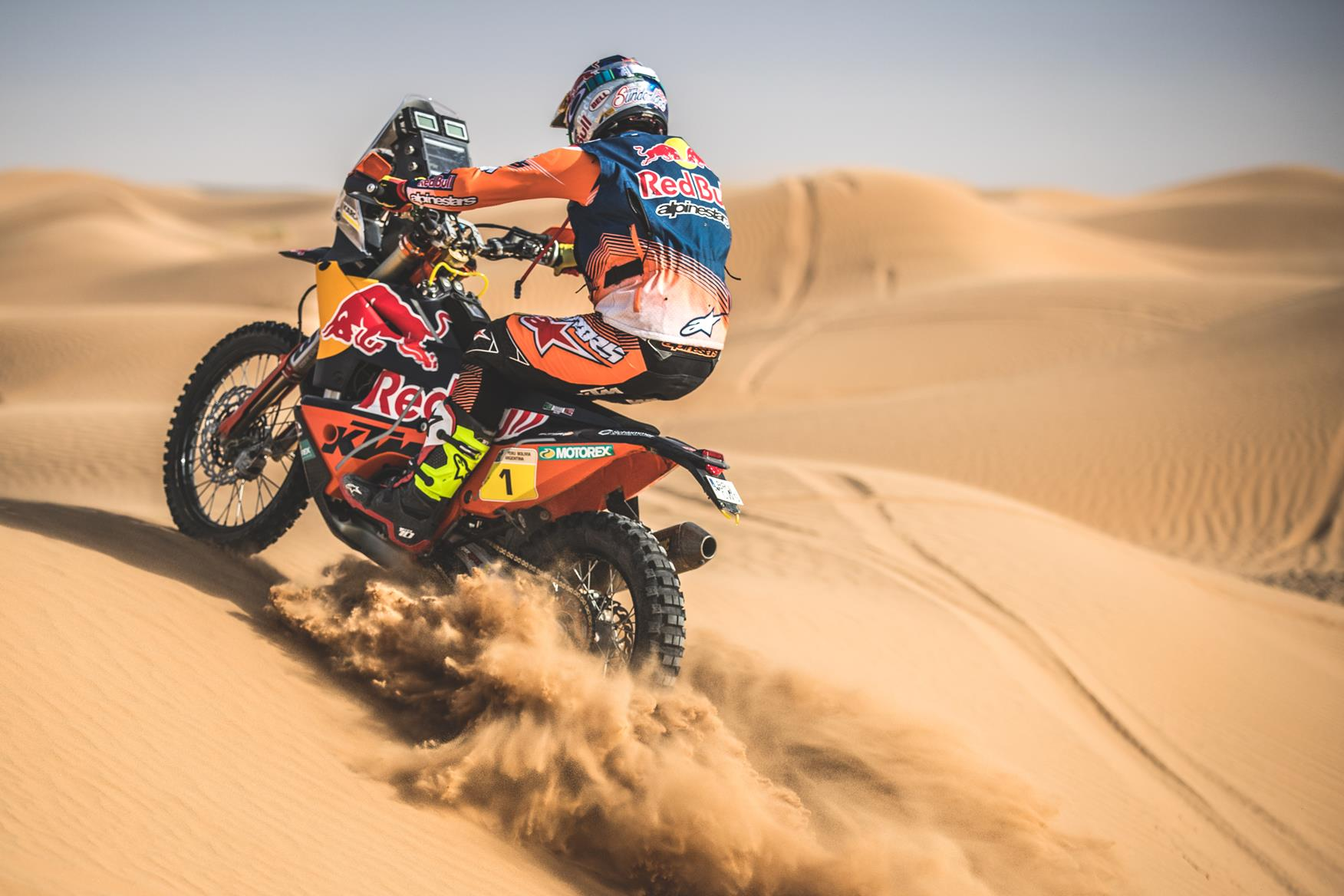 Al-Attiyah takes Dakar opener, Loeb finishes without brakes